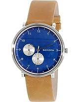 Skagen Hald Chronograph Blue Dial Men's Watch - SKW6167
