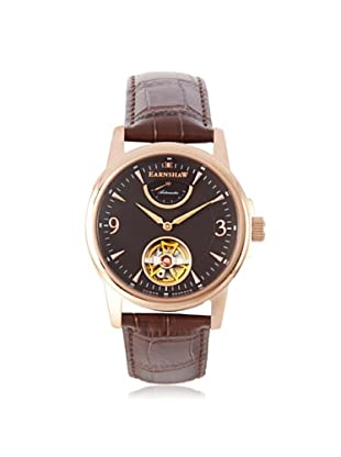 Earnshaw Men's 8014-06 Flinders Brown Stainless Steel Watch