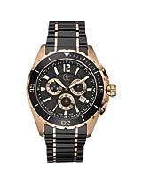 Gc Analogue Black Dial Men's Wristwatch - X76004G2S