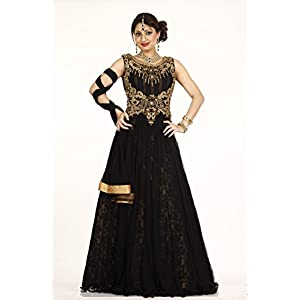 Bawree Evening Gown Black Net 31280