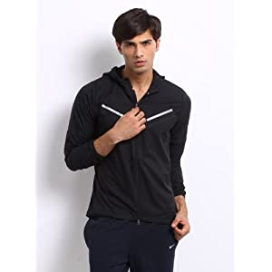 Nike Men Black Cyclone Jacket