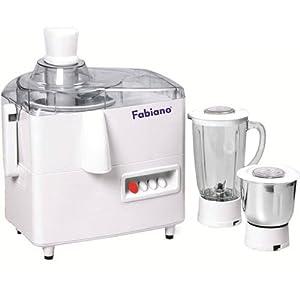 Fabiano JMG-01 Juicer Mixer Grinder - White