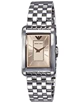 Emporio Armani Analog Light Pink Dial Women's Watch - AR1903