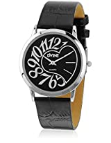 DVINE Black Dial Unisex Watch DD8073 BK01