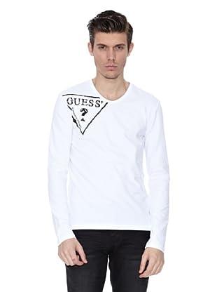 Guess Camiseta Amedeo (Blanco)