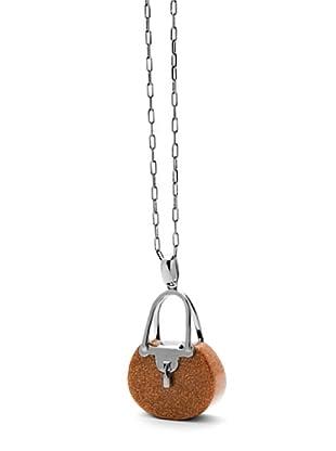 Luxenter PA898120 - Colgante Big Handbag de plata
