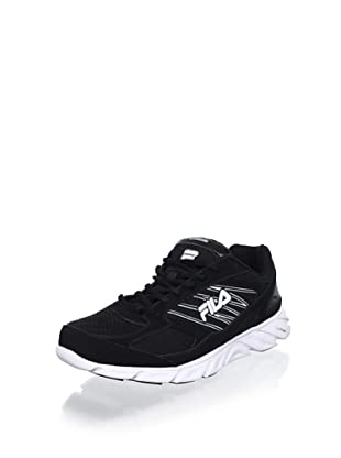 Fila Men's Radical Lite Sneaker (Blk/White/Metallic Silver)
