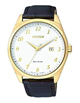Citizen Analog White Dial Men's Watch - BM7322-06A