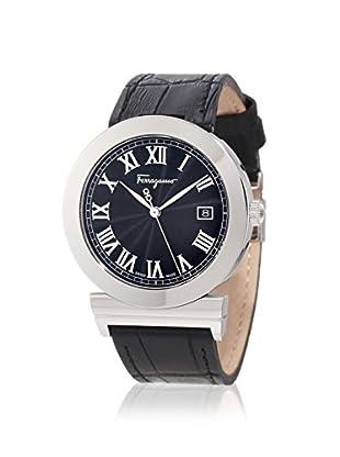 Salvatore Ferragamo Men's F71LBQ9909 S009 Grande Maison Black Leather Watch
