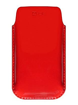 4-OK by Blautel Case für iPhone 4/4S/Smartphones (Rot)