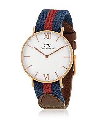 Daniel Wellington Reloj con movimiento cuarzo japonés Woman Grace London navy/burgundy/brown 36 mm
