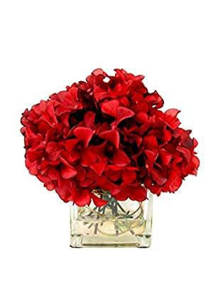Creative Displays Hydrangea Water Pot, Red