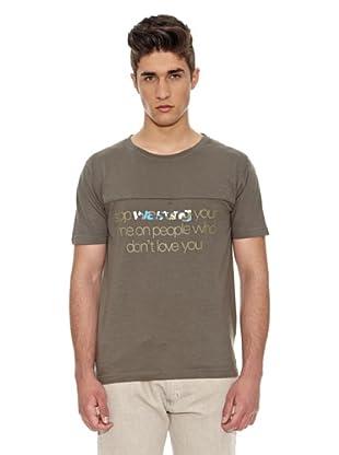 Carrera Jeans Camiseta Lavado (Gris)