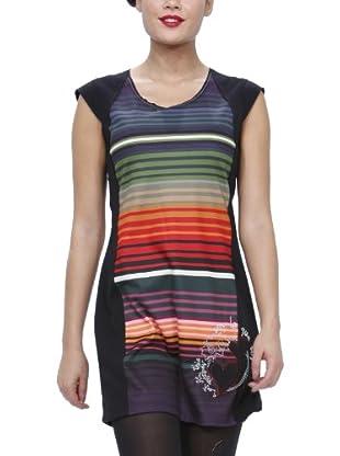 Desigual Vestido corto, 26V2087 (Negro)