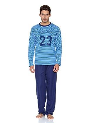 Kumy Pijama Chicago (Azul Marino)