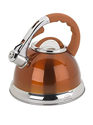Lenox 2.5-Qt. Orange Stainless Steel Whistling Tea Kettle