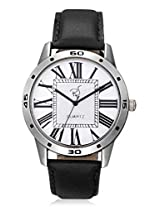 RICO SORDI Mens Black Leather Watch (RSMW_L10)