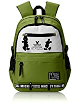 "Genius Nylon Children's Backpack (GT 1505 - 19""-GREEN)"
