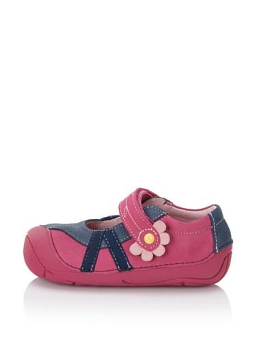 umi Kid's Cassia Mary Jane (Infant/Toddler) (Fuchsia/Dark Navy)