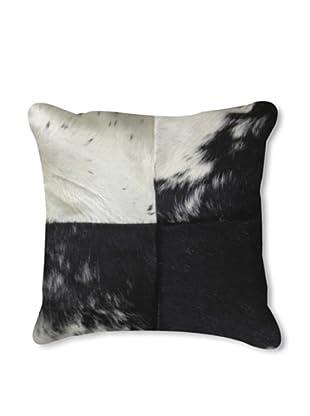Natural Brand Torino-Quatro Pillow, Black/White