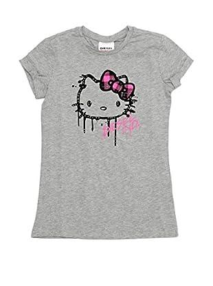Diesel Camiseta Tasp-Hky (Gris)