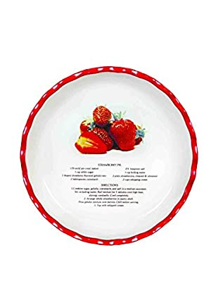 Aunt Beth's Cookie Keepers Strawberry Pie Plate