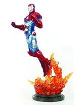 Bowen Designs Iron Patriot Painted Statue