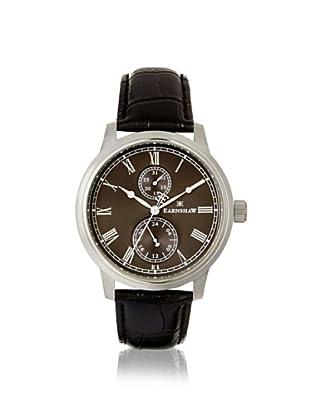 Earnshaw Men's 8002-01 Cornwall Black/Grey Stainless Steel Watch