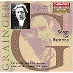 Grainger;Songs for Baritone