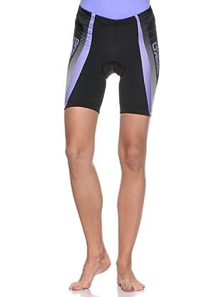 Briko Klub Fahrradhose Lady (schwarz  violett)