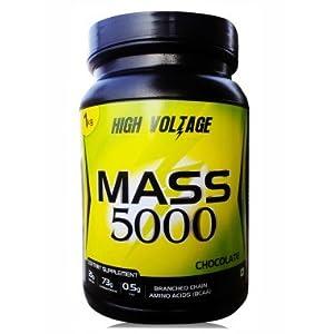 Kiwi Nutritech High Voltage Mass 5000 weight 1 Kg Chocolate