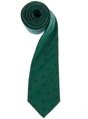 Lester Corbata Cuadros Verde / Azul