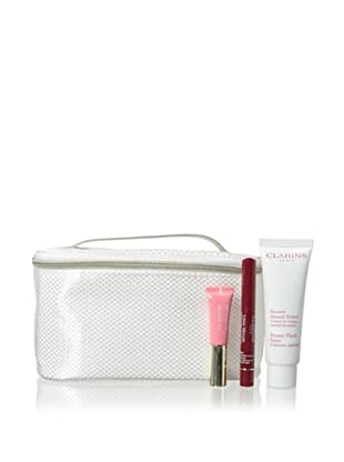 Clarins Radiant Essentials Beauty Flash Balm 3-Piece Collection with Case