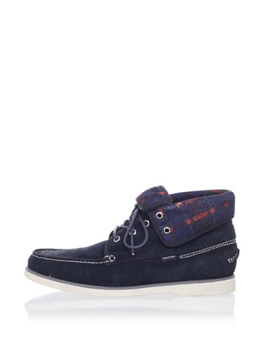 Nautica Men's Andrew Lace-Up Boot (Navy Suede)
