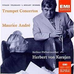 国内盤CD モーリス・アンドレ(Tr) カラヤン指揮:トランペット協奏曲集のAmazonの商品頁を開く