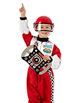 Melissa & Doug Race Car Driver Costume Set