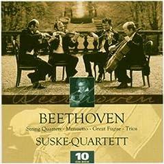 ズスケ・カルテット演奏 ベートーヴェン弦楽四重奏全集(10CDs)の商品写真