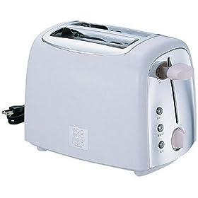 【クリックでお店のこの商品のページへ】TWINBIRD ポップアップトースター L.u.P.u. ホワイト TS-4668W: ホーム&キッチン