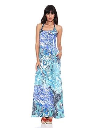 Desigual Vestido The Gossip (Azul Dali)