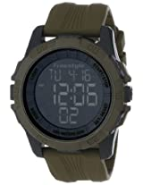 Freestyle Unisex 101986 Sport Big Digit Display Digital Strap Olive Drab Watch