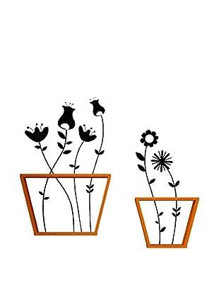 Mobito Design Wandregal 2er Set Pots