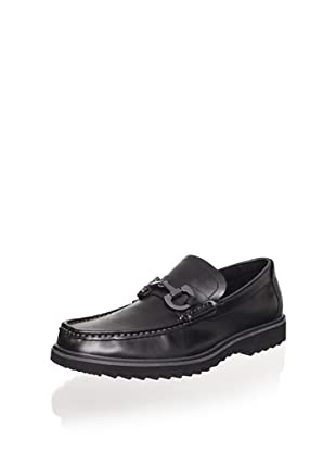 Kenneth Cole Reaction Men's Fair N Square LE Loafer (Black)