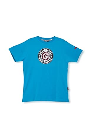 The Indian Face  Camiseta Shelby (Azul Cian)
