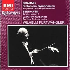 CD フルトヴェングラー指揮 ブラームス:交響曲全集ほかの商品写真