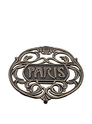 Old Dutch International Paris Trivet, Antique Gold