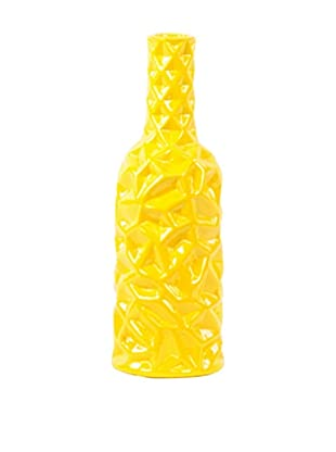 Ceramic Vase, Medium, Yellow