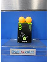 Cosco Stiga Cup Table Tennis Training Balls - Pack of 6