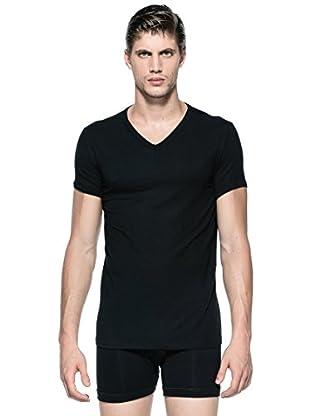Versace Camiseta V (Negro)