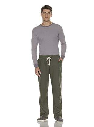 Oliver Rayn Men's Linen-Blend Pants (Night)