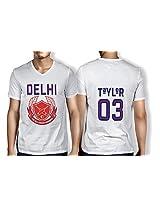 Anger Beast Tayloy Delhi White Sweat Free T shirt D TAY 00